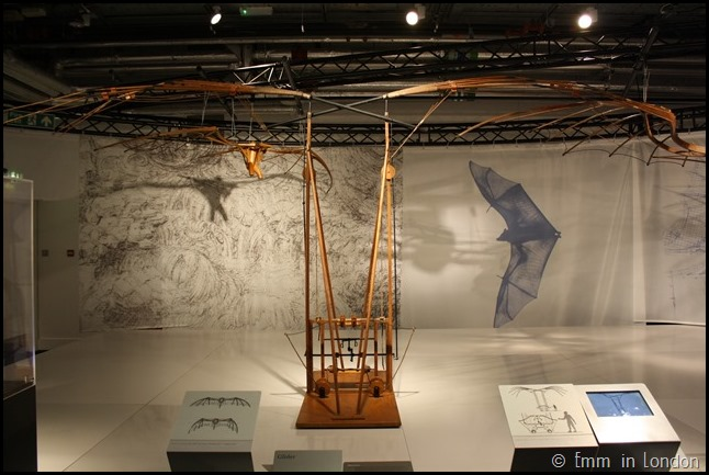 Model of Leonardo da Vinci Glider
