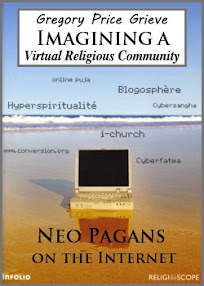 Cover of Gregory Price Grieve's Book Imagining a Virtual Religious Community Neo Pagans on the Internet