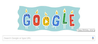 Thank You Very Much Google For This Pleasing Surprise Really Was Not Expecting Often Our Closed Ones Do Wish Us On Birthdays But Getting Wished