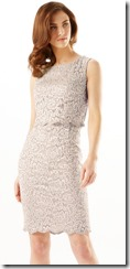Phase-Eight double layer stretch lace dress