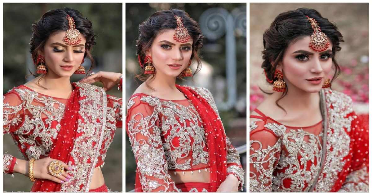 Zubab Rana Beautiful Latest Bridal Photo Shoot