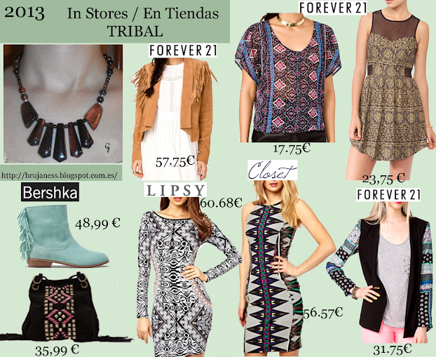 Tribal Season Spring Summer 2013/ Temporada Primavera Verano 2013 Tribal in stores, en tiendas, zara black dress, vestid, negro, bershka, bolso, handbag, forever21, forever 21, long, maxi, azul, blue, skirt, H&M, H & M, sandals, falda, sandalias, bochila, backpack, accessorize, brown, turquesa, turquoise, chaqueta, jacket, boots, botas, ankle boots, botines, lipsy, asos, closet, fringe, flecos