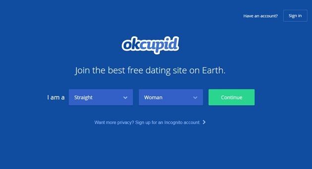 Abrir mi cuenta OKCupid