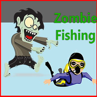 zombies fishing game
