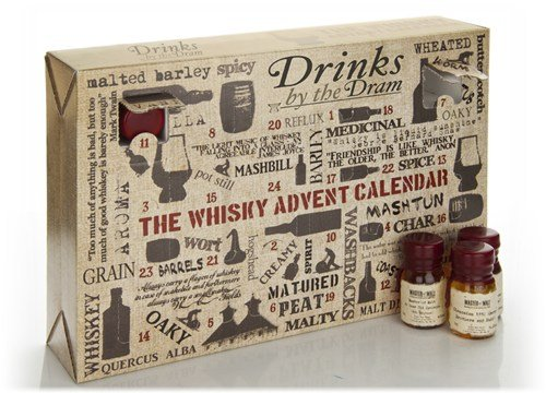 The Whiskey Advent Calender Will Make Any Man Happy About Christmas