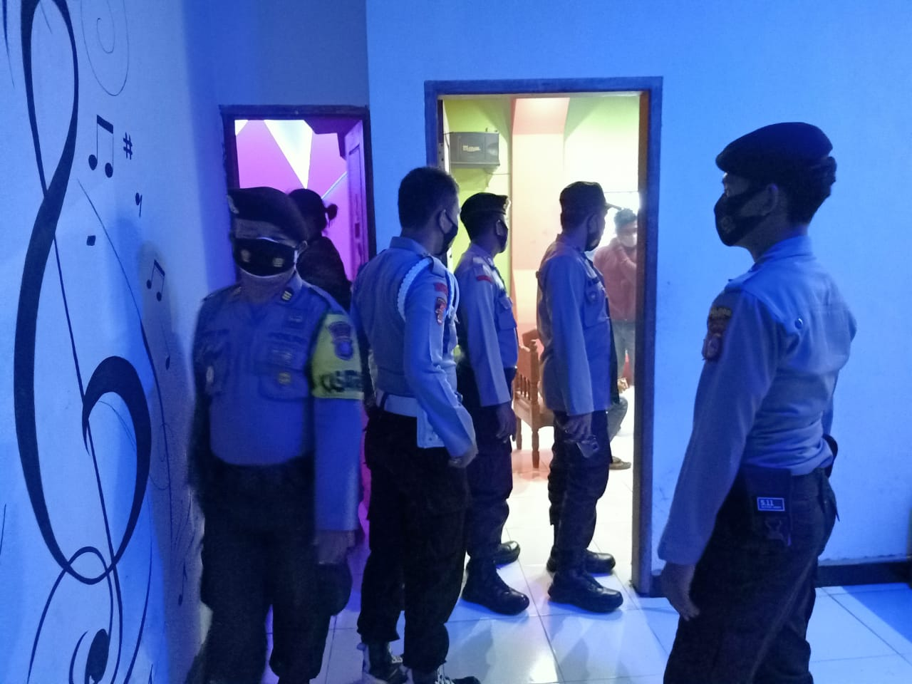 Tingkatkan DisiplinProkes, Personil Polres Buol Gelar KYRD