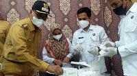 BNNK Test Urine Puluhan Pejabat, Bupati Bireuen Mendukung Penuh Pemberantasan Narkoba
