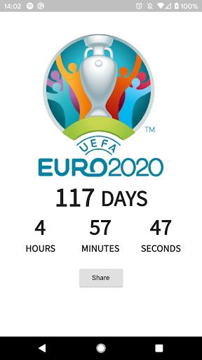 Euro 2020 Countdown screenshot 2