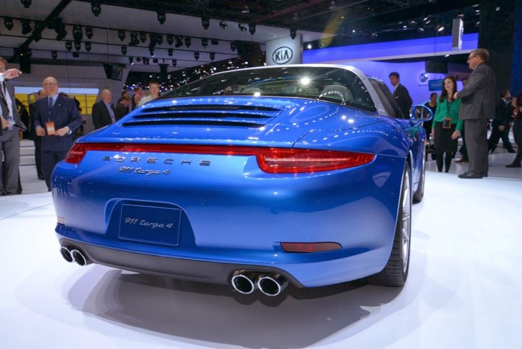 2014 Porsche 911 Targa 4 NAIAS 8