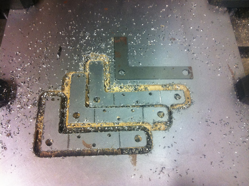 Polly engine stand milled
