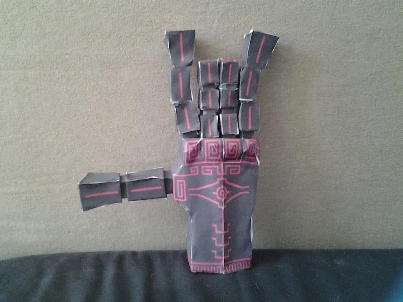 Zant's Hand Papercraft