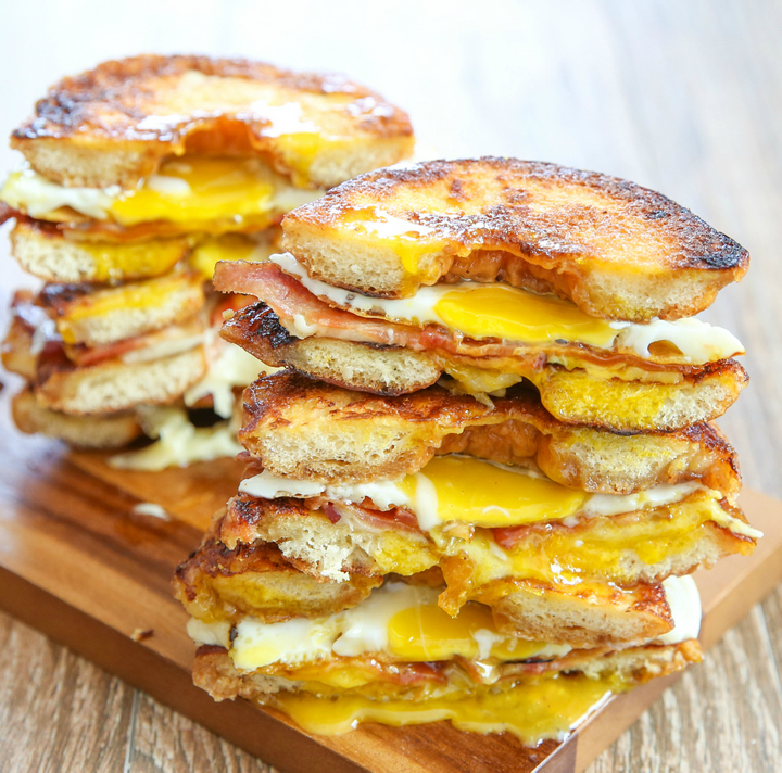 breakfast sandwich recipes dishmaps toasted breakfast sandwich recipes ...