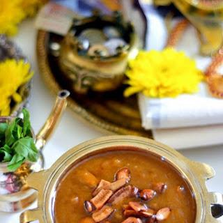 Kadala Pradhaman | Lentil Pudding with Jaggery and Coconut Milk Recipe