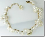 Mounir Keshi Cluster Pearl Bracelet