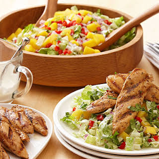 Zesty Lime and Mango Chicken Salad.