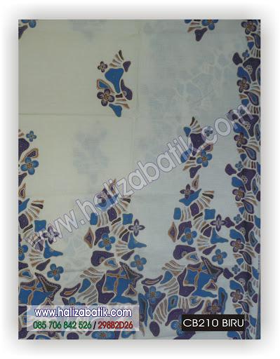 CB210%2BBIRU Butik Baju Batik, Model Batik Terbaru, Baju Online Murah, CB210 BIRU
