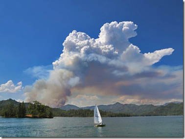 Whiskeytown Lake, Carr Fire, Redding, July 23, 2018 in Redding Record Searchlight