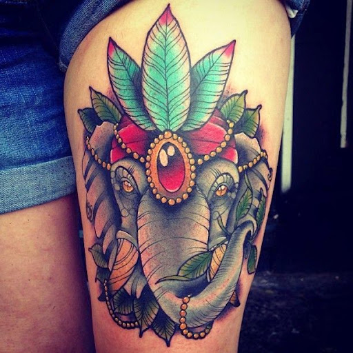 70 best elephant tattoo designs and ideas tattoosme elephant tattoos gumiabroncs Image collections