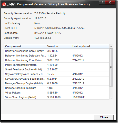 grand stream dreams: QuickPost: Removing Trend Micro Worry-Free