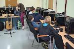 Bity z komputera - uczniowie komponują własną muzykę.