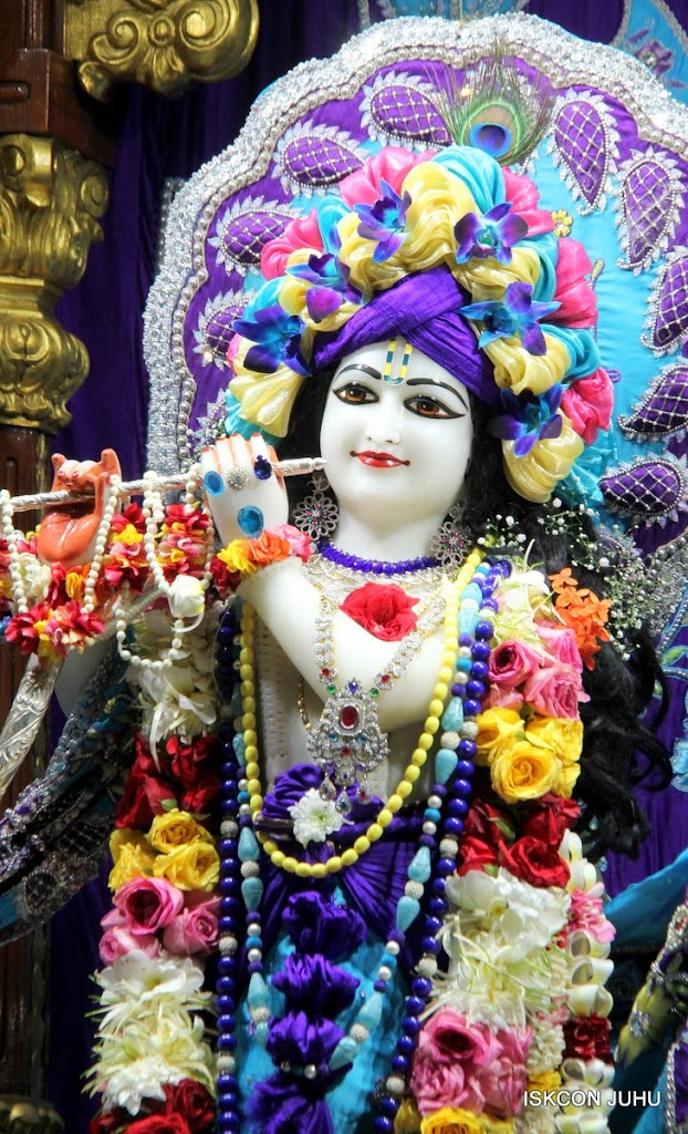 ISKCON Juhu Sringar Deity Darshan 17 Aug 2016 (11)