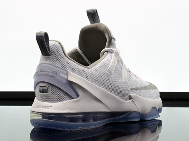 new product f5350 ca79a Available Now Nike LeBron 13 Low White amp Silver ...