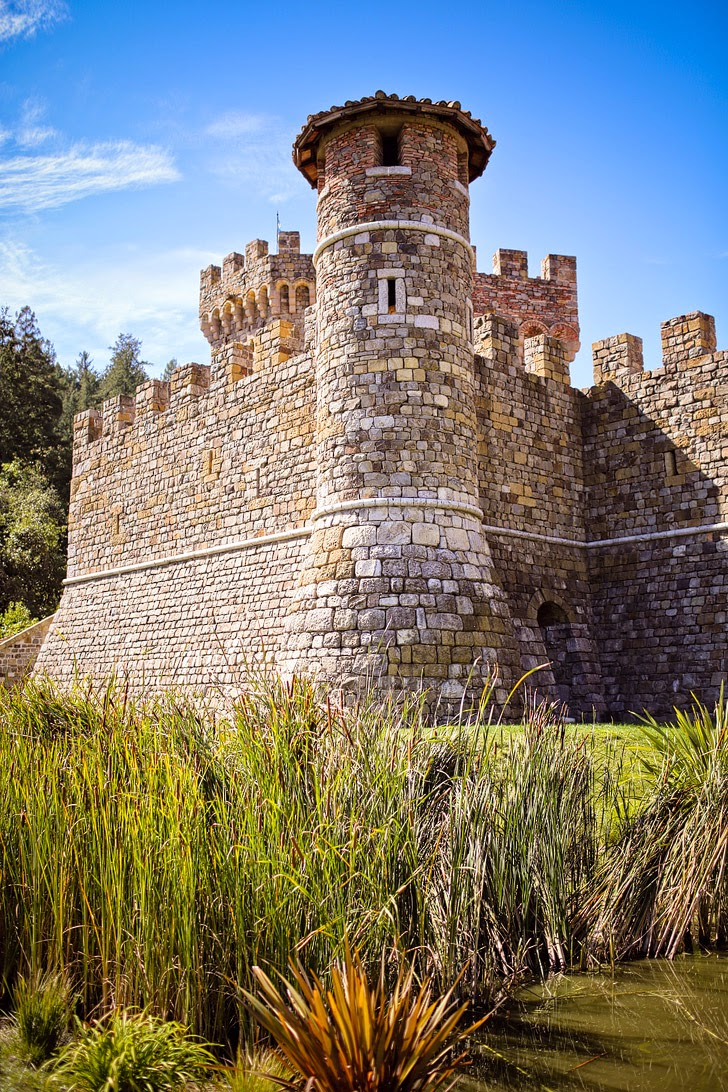 Castello di Amorosa (5 Best Wineries in Napa Valley California).