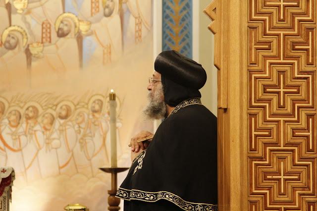 His Holiness Pope Tawadros II visit to St. Mark LA - _MG_0557.JPG