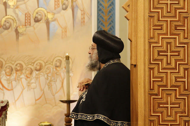 His Holiness Pope Tawadros II visit to St. Mark LA - _MG_0557.JPG