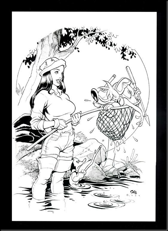 [Frank Cho] Women - Selected Drawings and Illustrations_854057-0072