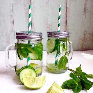 Cucumber Mint & Lime Detox Water