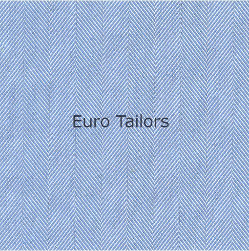Slim-Fit Hemd aus Baumwolle im Fischgrät-Muster