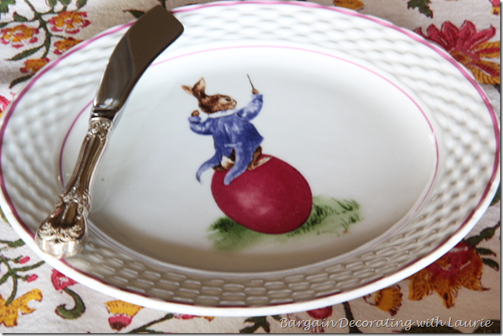Williams Sonoma Easter Plate
