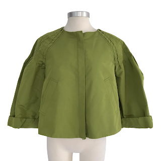 Prada Hunched-Back Jacket