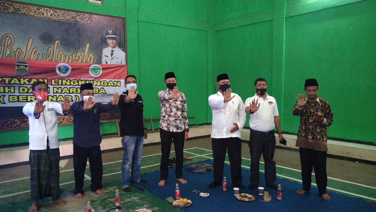 Polres Purwakarta bersama Apdesi Gencar Sosialisasikan P4GN