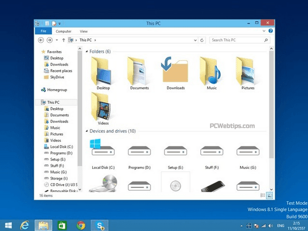 Windows 10 Transformation Pack para Windows 8, 7 y XP