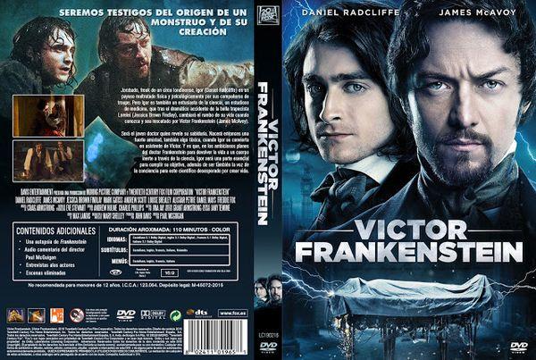Victor Frankenstein – Castellano, Inglés – DVD9