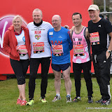 OIC - ENTSIMAGES.COM - Amanda Solloway, Graham Evans, Alistair Burt, Alun Cairns and Simon Danczuk at the  Virgin Money London Marathon on Blackheath in London, England. 24th April 2016 Photo Mobis Photos/OIC 0203 174 1069