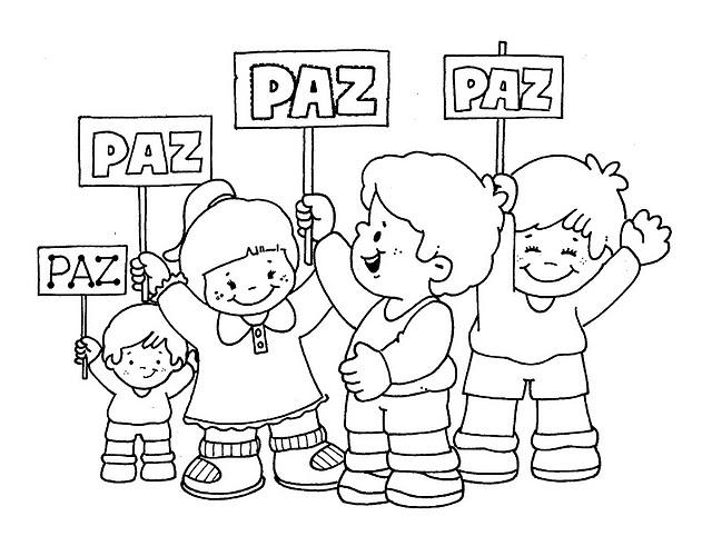 為孩子們的著色頁 21 De Septiembre Día Internacional De La