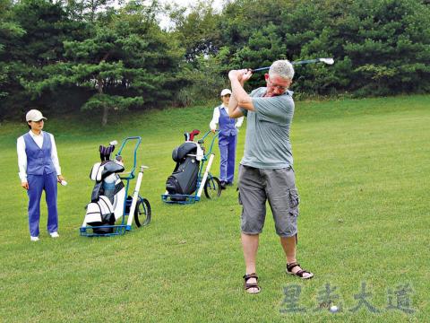 北韓高爾夫