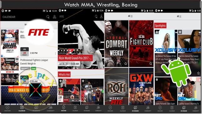 FITE - MMA, Wrestling, Boxing APK