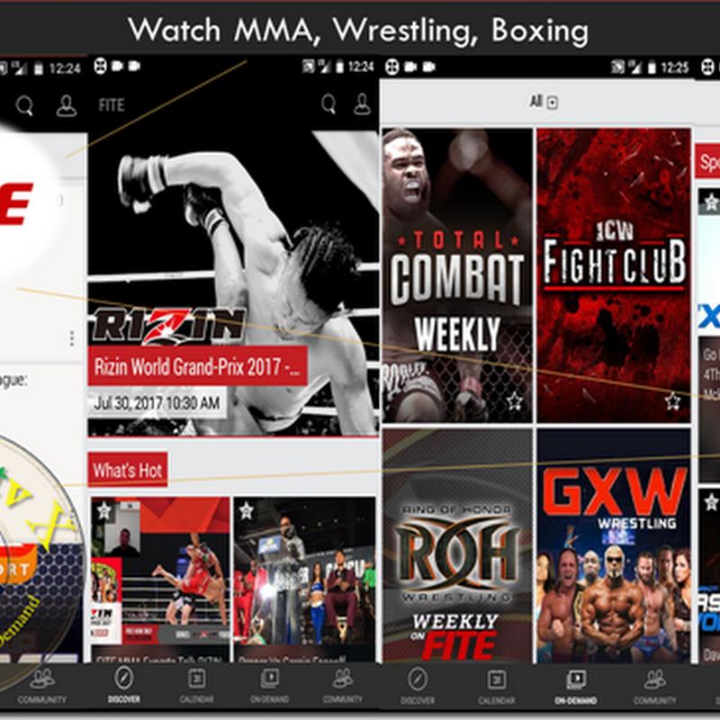 MMA, Wrestling, Boxing APK