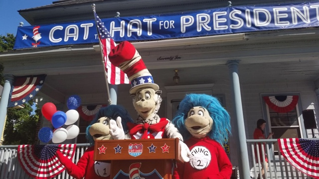 Dr. Seuss Vote Election Cat in the Hat President WAMC