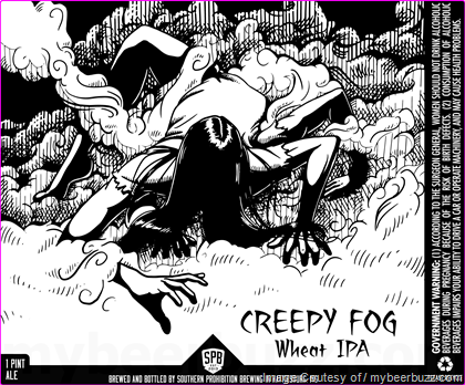 Southern Prohibition Brewing Creepy Frog Wheat IPA Cans
