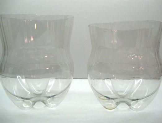 Garrafas PET para reciclagem
