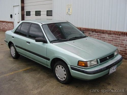 1993 Mazda Protege Sedan Specifications  Pictures  Prices