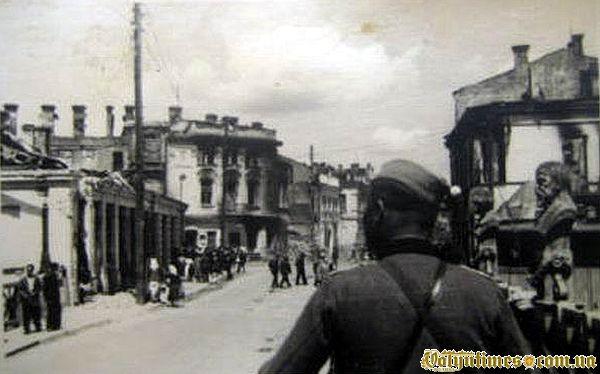 Луцьк в воєнний період. 1941 рік.