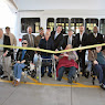 Ribbon Cutting For New Bus At Montrose VA Home