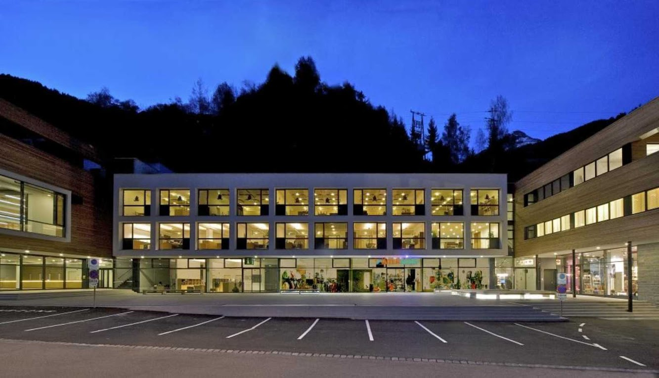 Kappl, Austria: Cultural Center by Brenner + Kritzinger Architekten