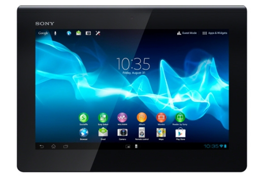 Singapore arrivals Sony Xperia Tablet S (Official Start Sale in Singapore)
